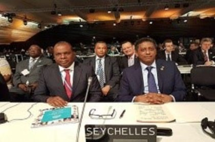 Seychelles President calls on international community to commit to Paris Agreement