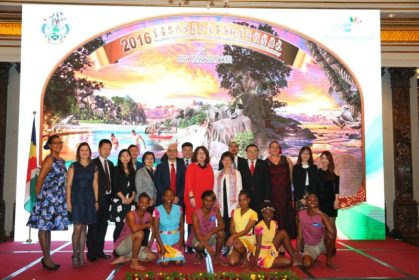 Seychelles Tourism Board hosts ceremony in China