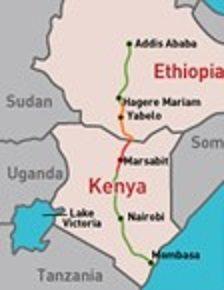 Kenya-Ethiopia highway