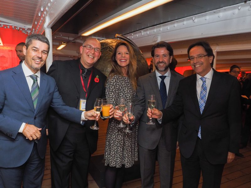 "WTM 2016 – Tenerife event ""onboard"" iconic Cutty Sark"