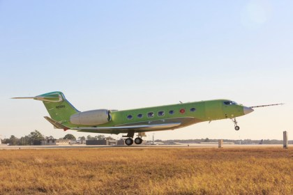 Gulfstream G600 takes flight ahead of schedule
