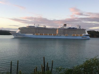 Antigua and Barbuda celebrates historic arrival of the MS Anthem of the Seas
