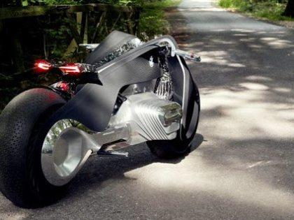 Luxury transportation: BMW's amazing Motorrad Vision Next 100 bike