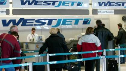 WestJet reports December load factor of 80.8 percent