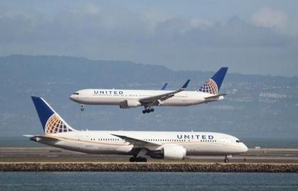 United Airlines reports best full-year on-time performance in company history