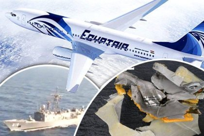 Air France – Egypt Air near midair collision over Belgium
