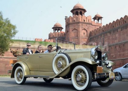 India set for much-awaited international vintage car rally