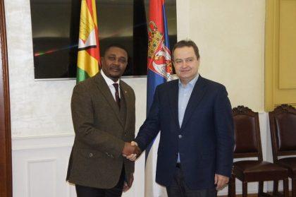 Zimbabwe's Tourism Minister on diplomatic European tour