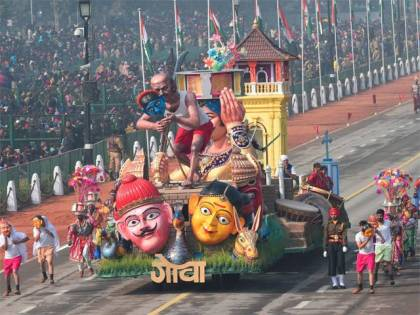 Tourists in India heading to Bharat Parv