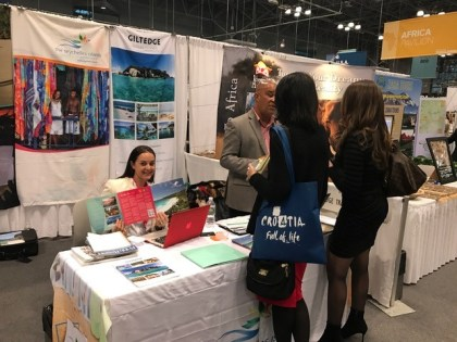 Seychelles Tourism Board at New York Times Travel Show 2017 edition
