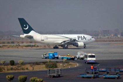 British fighter jets escort PIA plane to airport after passenger arrested on board