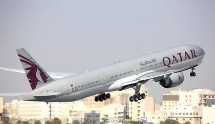"""Qatar Airways takes """"Platinum Planet Prize"""" for longest route in world"""