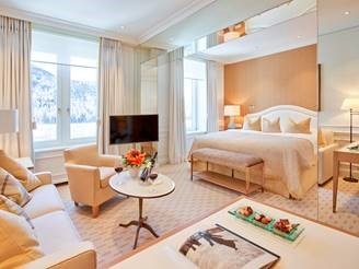 Grand Hotel Kronenhof unveils new rooms by Pierre-Yves Rochon