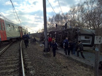 Belgian passenger train derailment leaves one dead, dozens injured