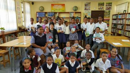 """Korea Ambassador Dho revisits UN """"Thank You Small Libraries"""" in South Africa"""