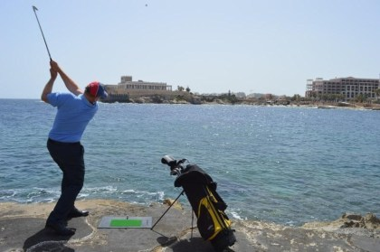 Play eco golf and feed the fish at Corinthia Hotel St. George's Bay