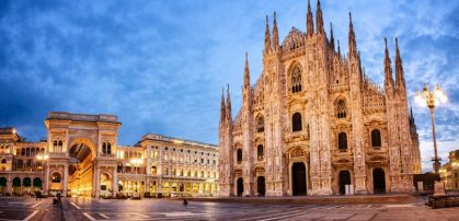 Milan ranks as the top economic city of Italy