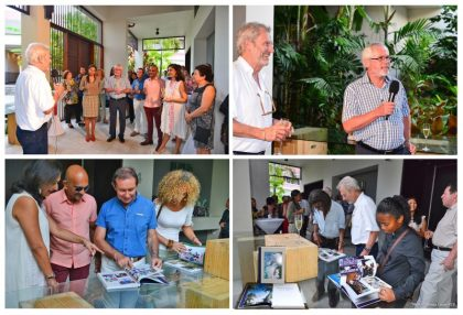 Claude Pavard launches fourth book about Seychelles