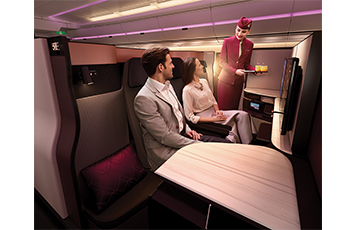 Qatar Airways concludes spectacular week at ITB Berlin with launch of QSuite