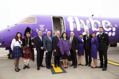 Flybe lands at Heathrow