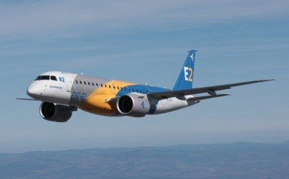 Embraer flies fourth E190-E2 prototype