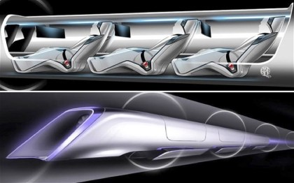 First full scale Passenger Hyperloop Capsule is being built