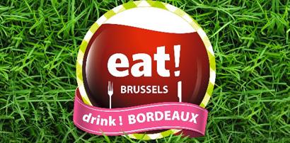 Save the date: eat! BRUSSELS, drink! BORDEAUX starts September 7