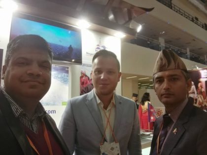 eTN at MITT 2017 in Moscow Nepalese style