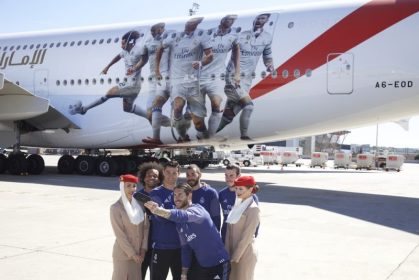 Emirates goes all for Real Madrid on its A380