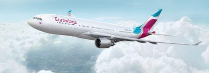 Eurowings operation update of airberlin aircraft