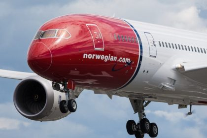 Norwegian airlines files for another London Gatwick-NY JFK flight