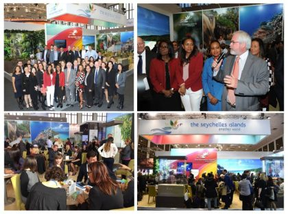 Seychelles Tourism Board and trade partners hail ITB 2017 as a success