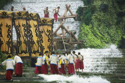 Dujiangyan Water Releasing Festival widely acclaimed by tourists worldwide