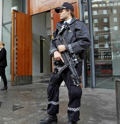 Norway arms police in wake of Stockholm attack