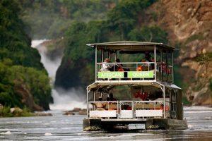 Uganda, Murchison Falls National Park ferry scheduled  for  Routine maintenance