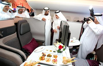 Was the Arabian Travel Market a success for Qatar Airways?