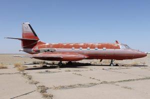 Elvis Presley's first jet set for auction