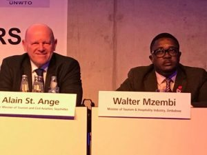 Seychelles endorsed Zimbabwe  in UNWTO Secretary General race