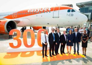 Airbus delivers first of 130 A320neo aircraft to easyJet