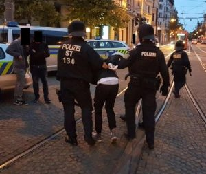 15 police officers injured in mob riot in Magdeburg, Germany