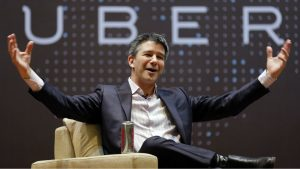 I love Uber: CEO and founder Travis Kanaick quits