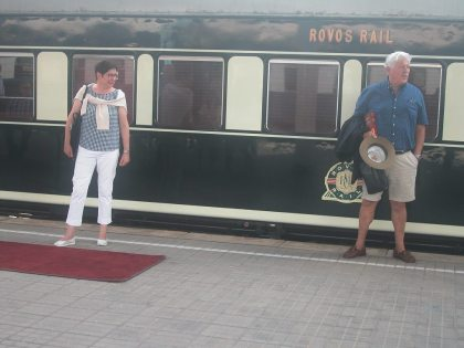 Luxury tourist train heads for the tip of Africa