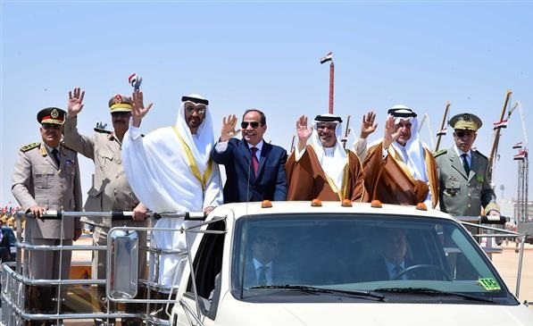 Egypt opens 'largest military base in Middle East' to protect major tourist destination