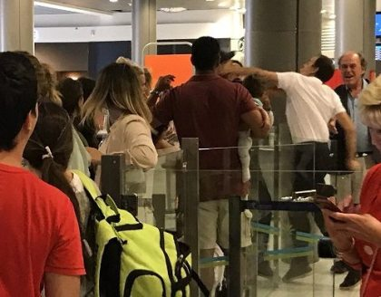 Nice Airport employee punches easyJet passenger after a row over delayed flight