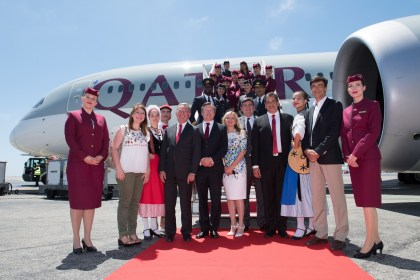 Qatar Airways launches direct service to Nice