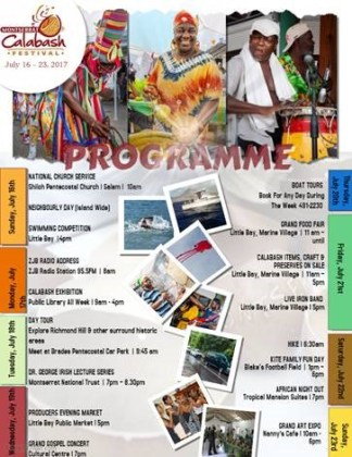 Montserrat celebrates its annual Calabash festival