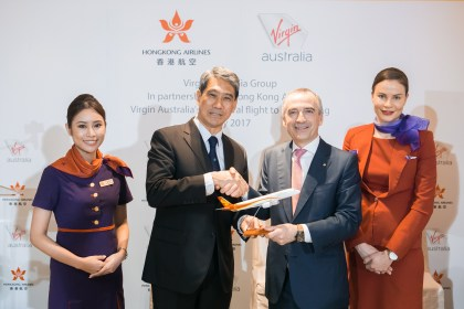 Hong Kong Airlines and Virgin Australia introduce reciprocal benefits for frequent flyers