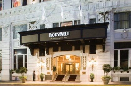 "Roosevelt Hotel in New Orleans: Site of ""The Cave"" – one of America's first nightclubs"