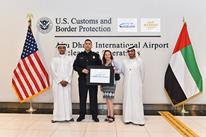 How to get around the computer ban on non-stop flights to the United States from the Gulf Region?