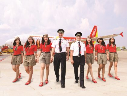 Vietjet's six-month profit up 46 percent